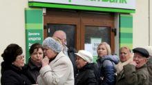 Ukraine nationalises country's largest bank