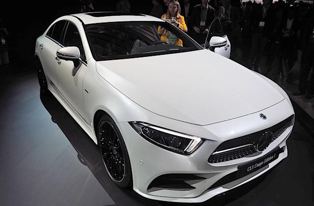 The 2018 CLS will be Mercedes' smartest coupe yet