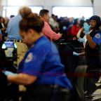 10% of TSA screeners call in sick over holiday weekend as shutdown continues