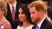 Duchess Meghan Markle looks absolutely regal in Prada for Buckingham Palace reception