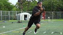 Maurice Jones-Drew's outdoor cardio routine