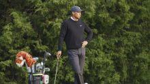 The Latest: Amateur Davis Thompson in early U.S. Open lead