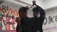Willow Smith Has Head Shaved While Locked in Glass Box for 24-Hour Art Exhibit