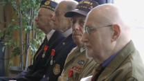 French Honor 34 World War II Vets at West Point