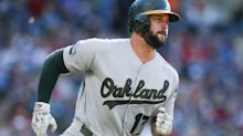 Yonder Alonso transformation from being just 'a guy' to the guy in Oakland