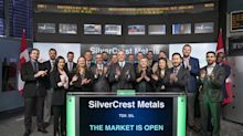 SilverCrest Metals Inc. Opens the Market