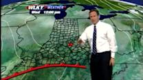 Weather video blog: Wet Christmas expected, snow may follow