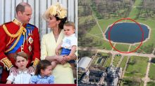 Body found in pond at Kate and Will's Kensington Palace home