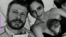 Fernanda Lima e Rodrigo Hilbert mostram vídeo fofo com a filha, Maria Manoela
