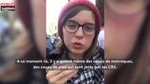 Tolbiac : Une étudiante raconte la violence de l'évacuation (Vidéo)