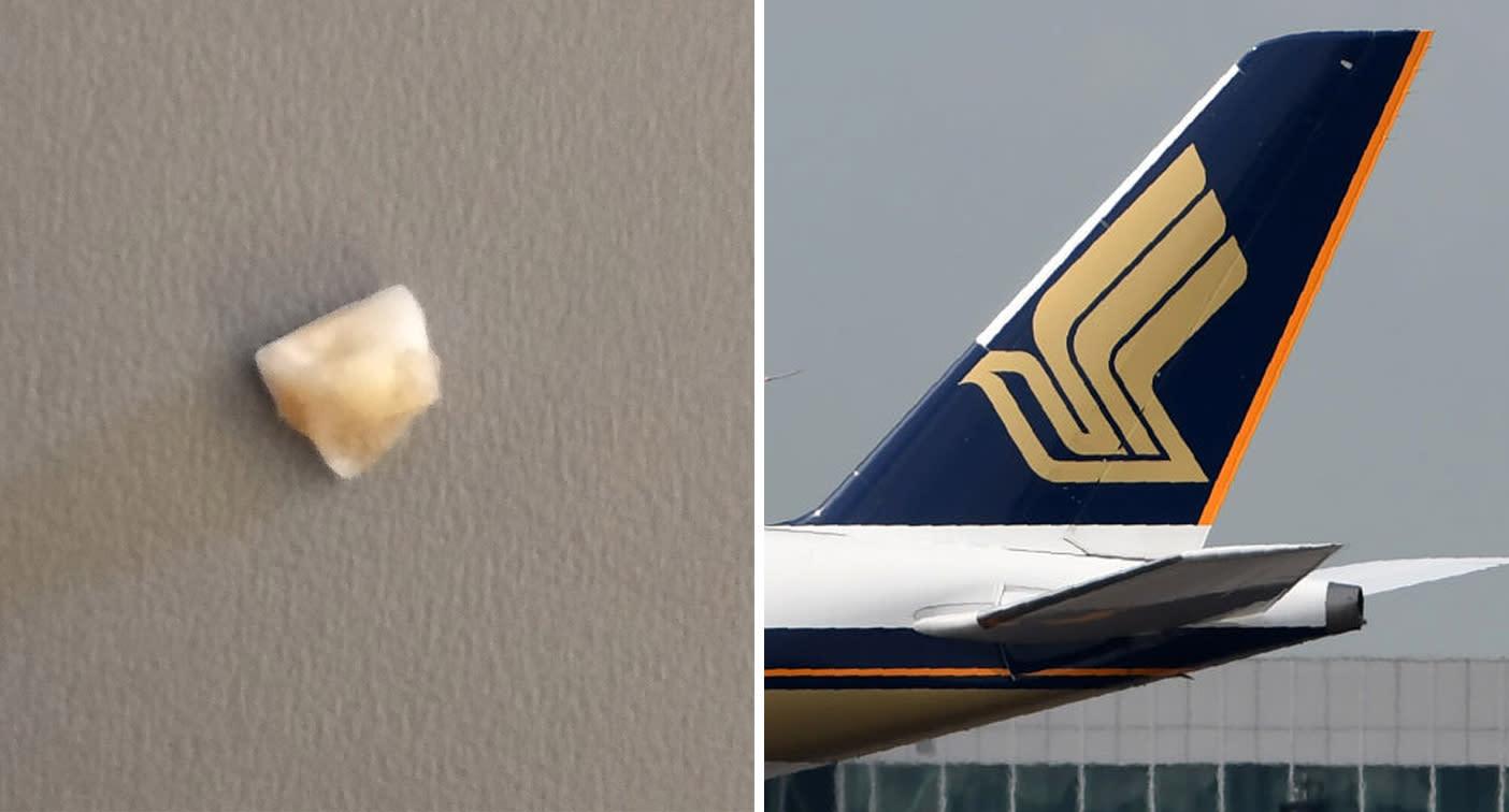 'I threw my guts up': Melbourne man's sickening find in plane meal