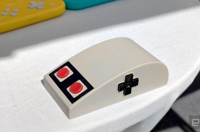 8BitDo turns the NES gamepad into a mouse