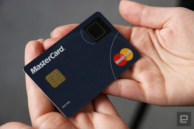 Mastercard adds fingerprint sensors to payment cards