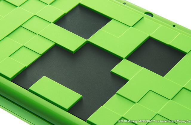 Nintendo unveils a 'Minecraft' Creeper 2DS XL special edition
