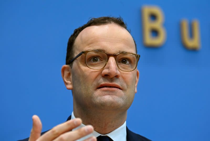 German health minister urges discipline to clamp down on coronavirus