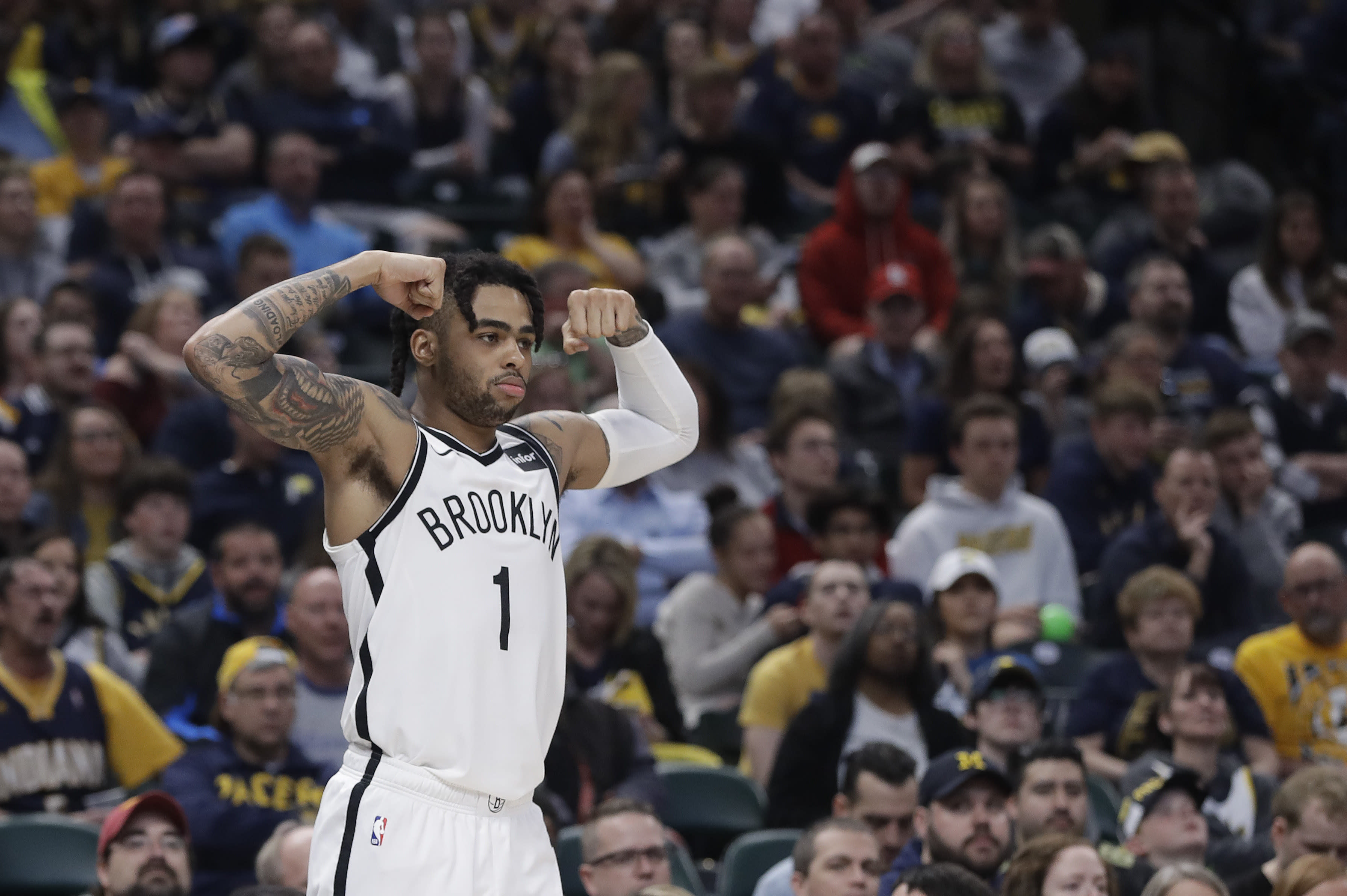 Are the Warriors acquiring D'Angelo Russell just to trade him?
