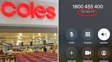 Coles customers fume over 'ridiculous' call wait times