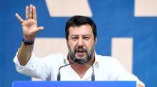ANÁLISIS-Salvini recupera su euroescepticismo, con críticas al euro y al fondo de rescate
