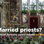 Vatican formally opens debate on married priests in remote parts of Amazon