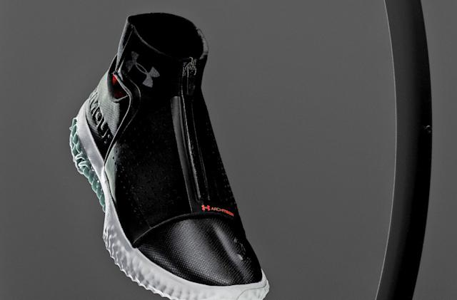 Under Armour's latest $300 3D-printed sneaker arrives March 30th