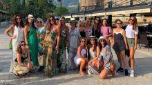 Mulher de Faustão leva bailarinas para 'Navio das Minas' na Grécia