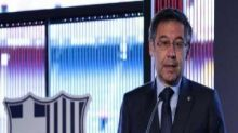 Former Barcelona president Josep Maria Bartomeu among officials arrested after raid at club's offices, say reports