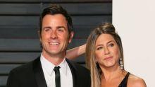 Justin Theroux finally talks about his 'heartbreaking' split from Jennifer Aniston