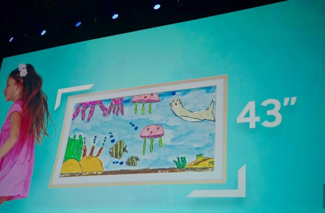Samsung has a 43-inch version of its Frame TV for smaller spaces