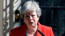 May anuncia su dimisión como primera ministra del Reino Unido