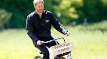 Internet goes wild over message on Prince Harry's jacket as he returns to work
