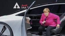 Merkel dreht eine Runde