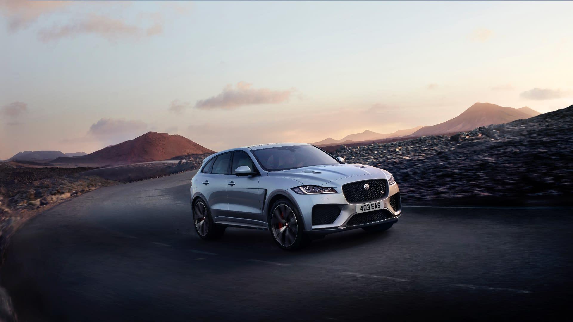 Jaguar F-Pace SVR (2020) review