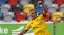 """Haaland veut """"remporter des titres"""" avec le Borussia"""