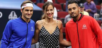 Federer wary of Nick Kyrgios threat at Laver Cup