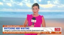 Queensland watching and waiting for cyclone Oma