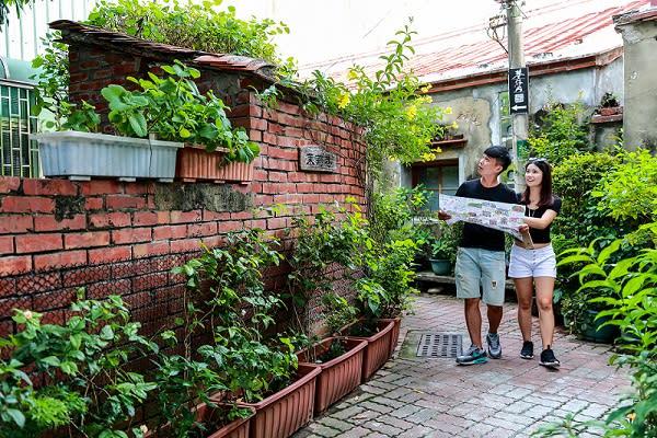 台南的老街巷弄深具風格特色,充滿著台南老城的懷舊滋味。