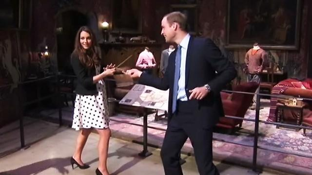Will, Kate duke it out in