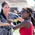 Meghan Markle Shows Off Her Best Dance Moves During Welcome At Cape Town Children's Organisation