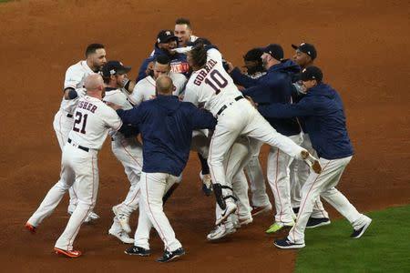 Highlights of Saturday's MLB playoff games