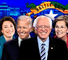 Nevada caucuses: Bernie Sanders races out to lead, early returns show