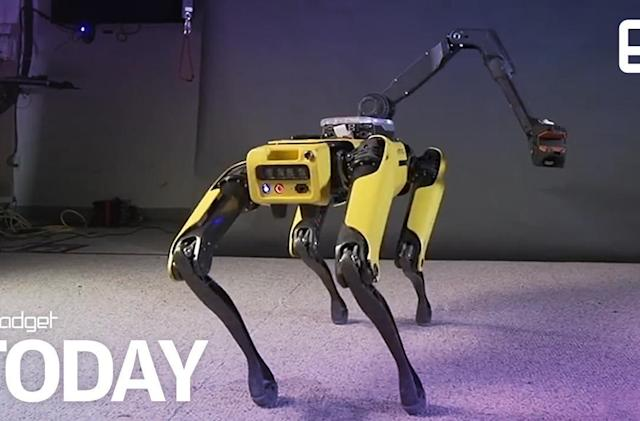 Watch Boston Dynamics' SpotMini robot twerk to 'Uptown Funk'