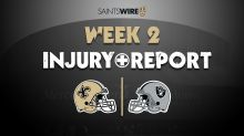 NFL Week 2: Cesar Ruiz upgraded on Saints-Raiders injury report