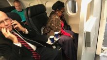 Image result for Teacher claims United gave away her first-class seat to a congresswoman