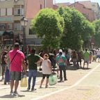 Queues for Spanish food banks grow amid the COVD-19 economic crisis