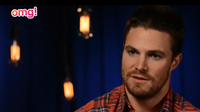 Stephen Amell to play Christian Grey?