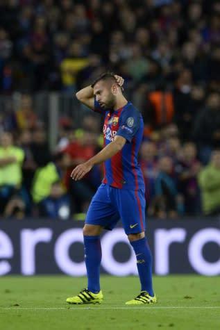 Diretoria do Barcelona não pensa em liberar Jordi Alba para o PSG