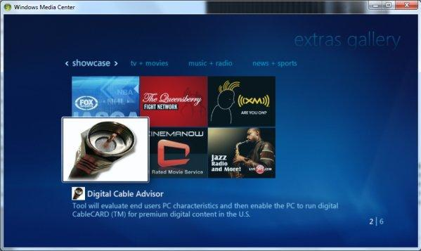 Microsoft emancipates Digital Cable Tuners with second Media Center update today
