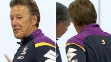 Craig Bellamy leaves press conference after ugly accusations