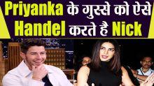 Nick Jonas Makes Priyanka Chopra To Turn Towards The Wall Whenever They Have Argument