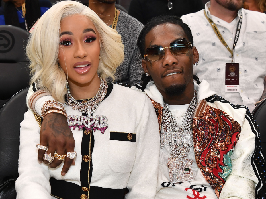 Cardi B Engaged To Offset After Rapper Proposes Live On: Cardi B And Offset Are Breaking Up